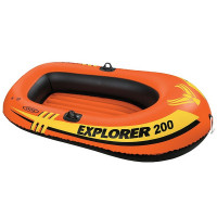 Надувная лодка Intex Explorer 200 (до 95кг) 185х94х41см, от 6лет 58330