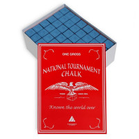 Мел Silver Cup National Tournament Chalk 144шт 07595 Blue